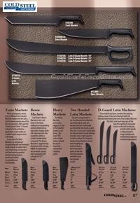 MACHETES TACTICOS ColdSteel